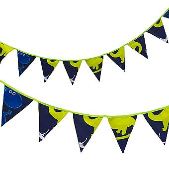 Ready Steady Bed® Children's Dino in the Dark Design Polycotton Bunting
