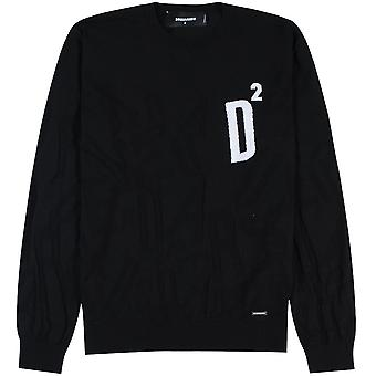 Dsquared2 Knitted D2 Logo Sweater