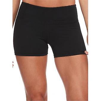 Body Glove Black Get Shorty Womens Sport Shorts