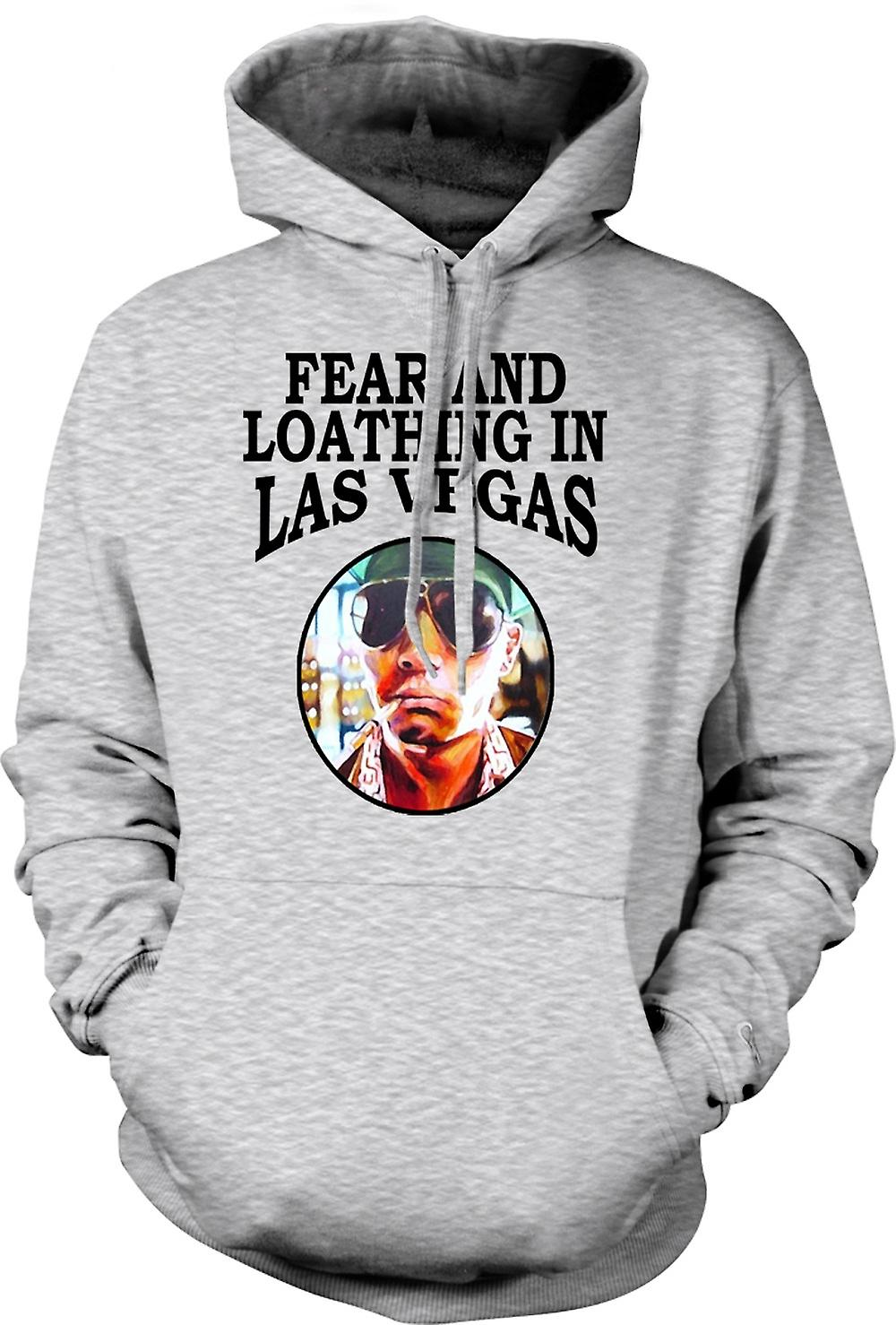 Herren Hoodie - Angst Loathing - Hunter S Thompson Lustig - Film