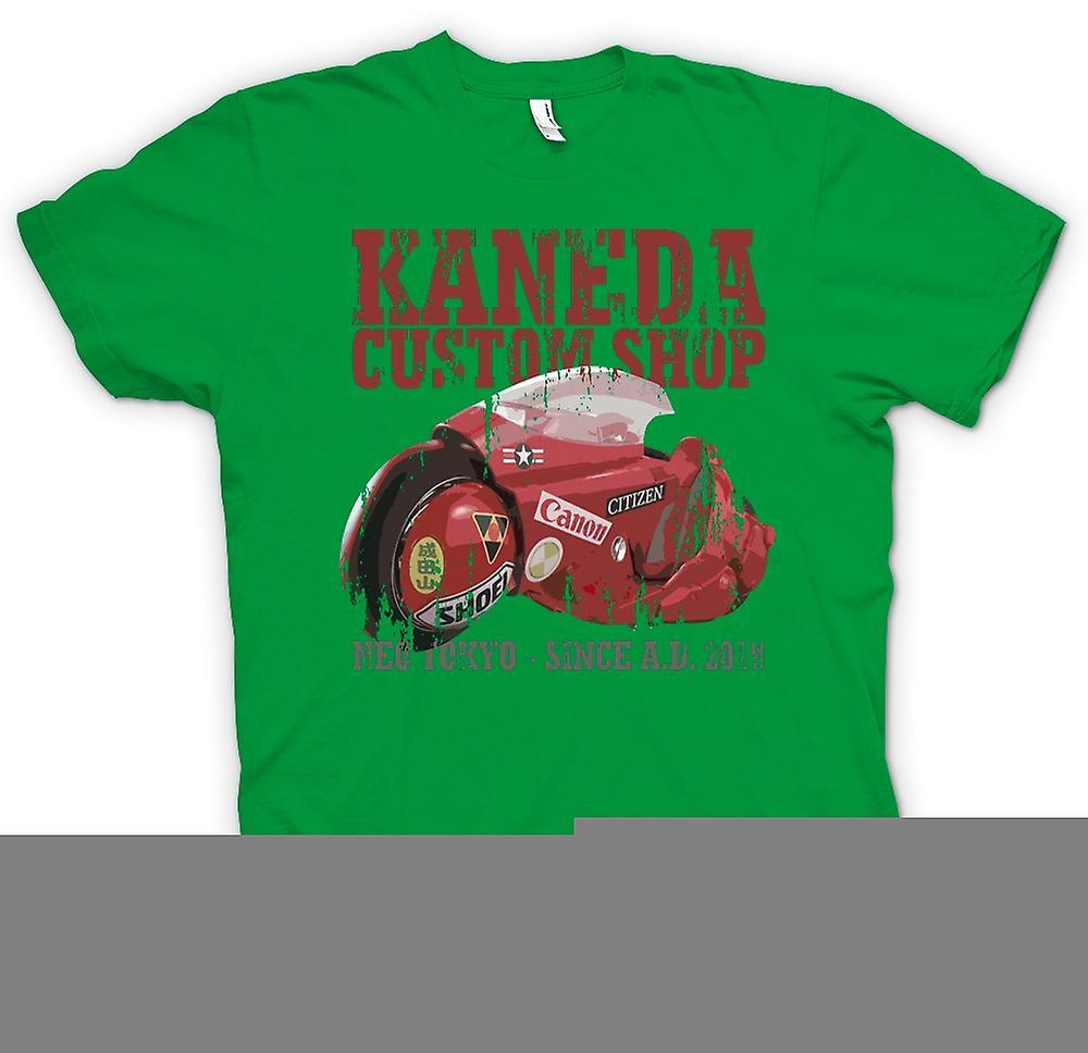 Mens T-shirt-Shop - Neo Tokyo - Akira Kaneda Custom