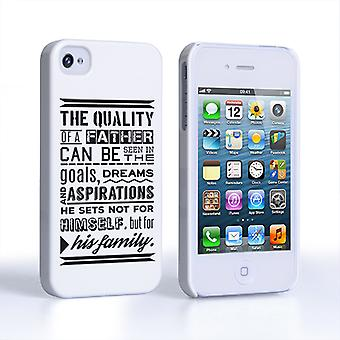 Caseflex Father Family Quote iPhone 4 and 4S Case