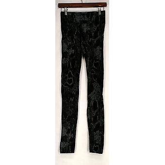 Kate & Mallory Leggings Slim Leg Pull On Elastic Waist Black A428086