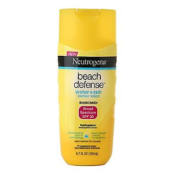Neutrogena beach defense lotion, spf 30, 6.7 oz
