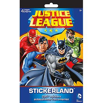 Stickerland Pad - Justice League - 4 pages Toys Gifts Stationery New st5264