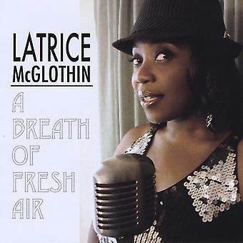 Latrice McGlothin - import USA de bouffée d'Air frais [CD]