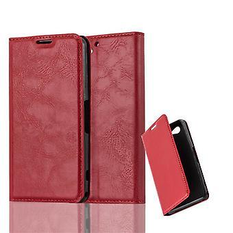 Cadorabo-sag til Sony Xperia Z2 COMPACT Case Cover-telefon tilfældet med magnetisk lukning, stativ funktion og kort case rum-sag Cover sag sag case sag bog folde stil
