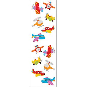 Mrs. Grossman's Stickers Chubby Airplanes Mg199 07273