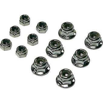 Spare part Team C T02084 M3/M4 nut set