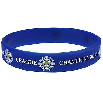 Leicester City Silicone Wristband Champions