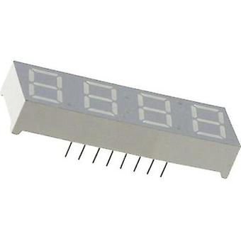 Seven-segment display Green 10 mm 2.1 V No. of digits: 4 Everlight Opto