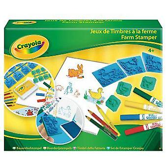 Crayola Farm Stamper (Toys , Educative And Creative , Design And Paint , Design Centres)