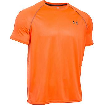 Under Armour tech short-sleeved tee men's orange 1264254-825 retired