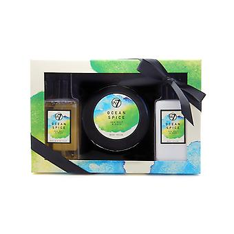 W7 Ocean Spice Sea Salt & Sage Bath & Body Gift Set