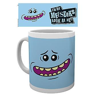 Rick och Morty herr Meeseeks mugg