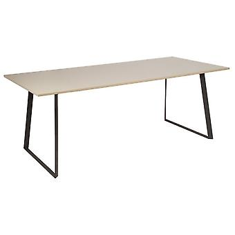 Wellindal Mesa comedor liv moka gris (Home , Living and dining room , Tables , Central)