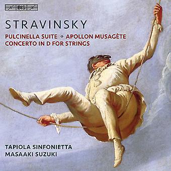 Stravinsky, I / Suzuki, Masaaki - Stravinsky: Pulcinella Suite [SACD] USA import