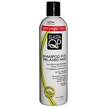 Elasta Qp Relaxed Hair Shampoo 12oz -