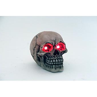 12cm LED calavera luz ornamento decorativo figuras regalo