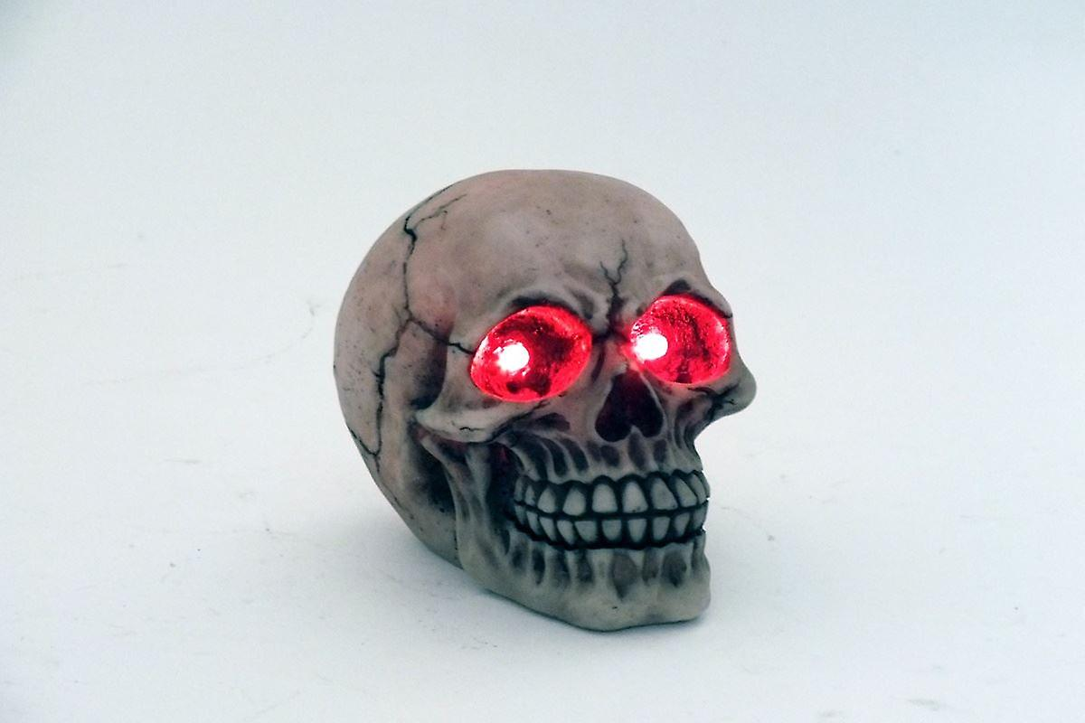 12cm LED Light Skull Decorative Ornament Figurines Gift Idea