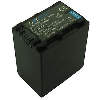 Dot.Foto Sony NP-FV100 Replacement Battery - 7.4v / 2900mAh