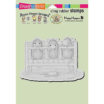 Stampendous House Mouse Cling Stamp 6.5