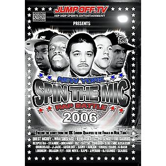 Spin Mic: New York Rap Battle 2006 [DVD] USA import