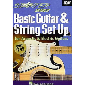 Basis gitaar & String Set Up [DVD] USA import
