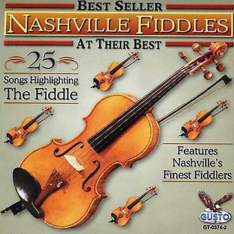 Nashville Fiddlers - At Their Best-25 Songs [CD] USA import