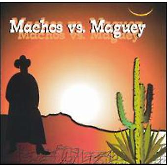 Banda Machos/Banda Maguey - Banda Machos vs. Banda Maguey [CD] USA import