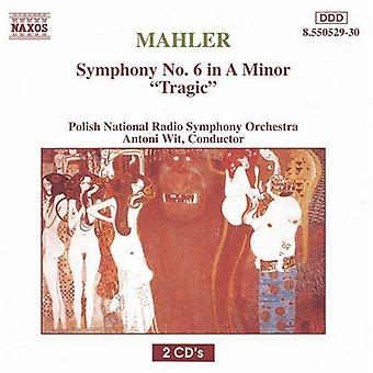 G. Mahler - Mahler: Symfoni nr 6 [DVD] USA import