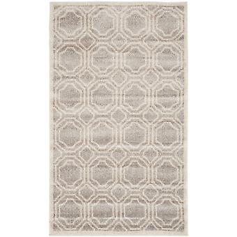 Elfenben & grå marokkanske fliser geometriske tæpper - Safavieh
