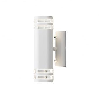 Konstsmide Modena Double Wall Light White