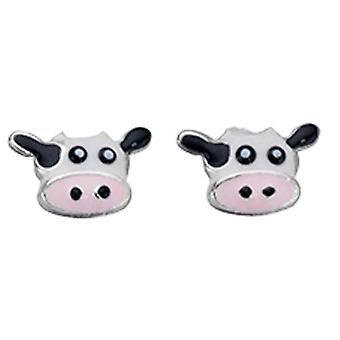 925 Silver Earring Cow