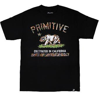 Primitive Apparel dyrkede Blaze T-Shirt sort