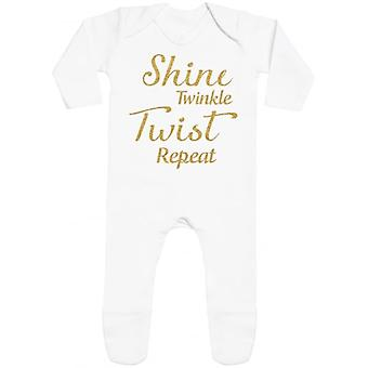 Spoilt Rotten Shine Twinkle Rompersuit