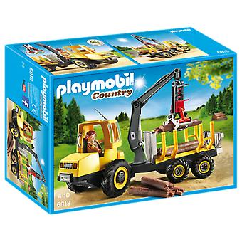 Playmobil 6813 Timber Transporter with Crane