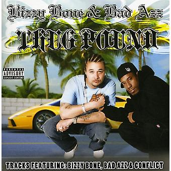 Bizzy knogle & Bad Azz - Thug pund [CD] USA importerer