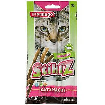 Flamingo Soft Lamb Cat Sticks (3Uds.) (Cats , Treats , Chewy & Softer Treats )