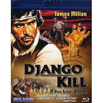 Django Kill bor du skyde! [BLU-RAY] USA import