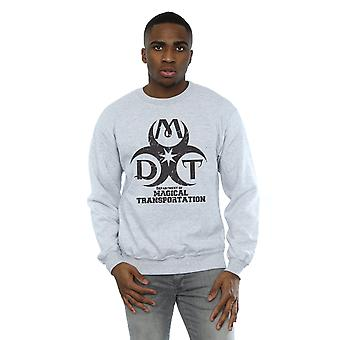 Harry Potter Men's Department of Magical Transportation Logo Sweatshirt