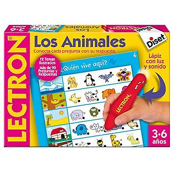 Diset Lectron learning game - animals