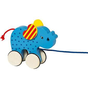 Goki Drag Elephant Animal Basjo (Garden , Games , Toys)