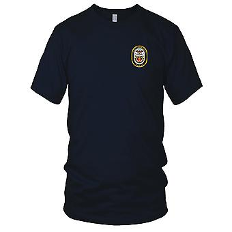 US Navy DDG-99 Farragut Embroidered Patch - Mens T Shirt