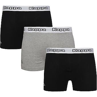 3 Pack Kappa Cédrick underwear men's Boxer shorts multicolor logo on the ring in gift box