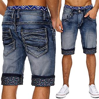 Men's jeans shorts Stonewashed Boxer style summer cargo shorts W34 - W46