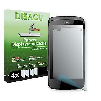 HTC 506e display - Disagu tank protector film protector (deliberately smaller than the display, as this is arched)