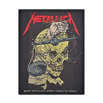 Metallica Harvester Of Sorrow tkane Patch