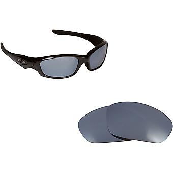 Straight Jacket Replacement Lenses Silver Mirror by SEEK fits OAKLEY Sunglasses