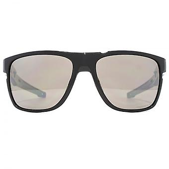 Oakley Crossrange Xl Sunglasses In Polished Black Prizm Polarised